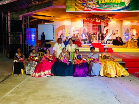 2019 Kankanen Festival Coronation night (2)