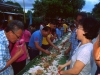 Ariston East Barangay Fiesta Boodle Fight  (3)