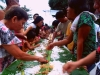 Ariston East Barangay Fiesta Boodle Fight  (4)