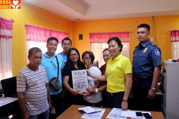 Barangay Calepaan is now declared as drug-free (1)