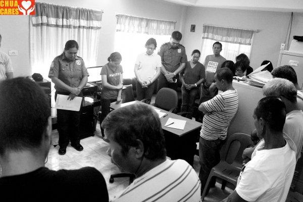 Barangay Calepaan is now declared as drug-free (2)