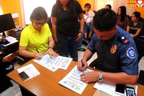 Barangay Calepaan is now declared as drug-free (3)