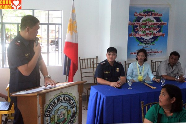 Blessing and Inauguration of the PNP Asingan 2nd Floor (6)