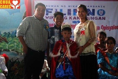 Celebration of Buwan ng Wika at Sanchez-Cabalitian Elementary School with Vice Mayor Carlos Lopez Jr