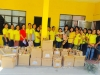 Distribution of Learning materials for all the day care pupils  (4)