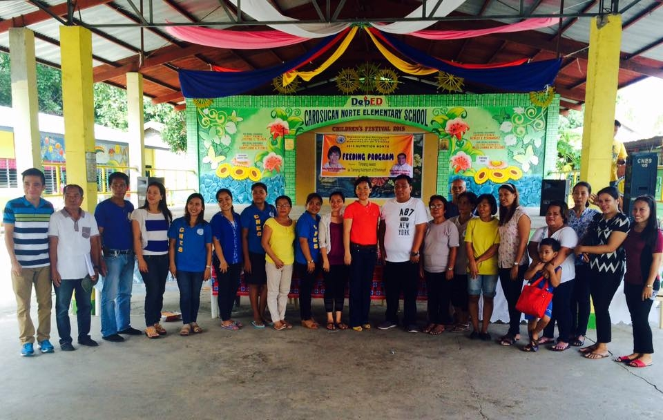 Feeding program at Ariston-Bantog Elem (1)