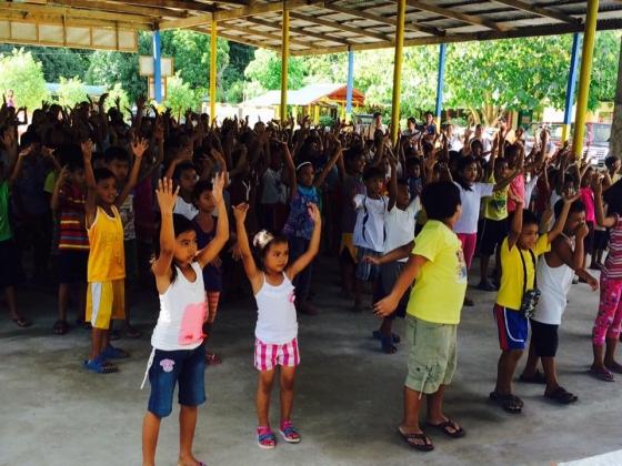 Feeding program at Sanchez-Cabalitian Elementary (27)