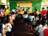 Feeding Program, Turn over of 1 set sound system  (10)