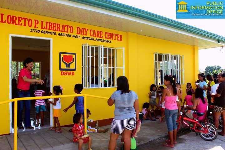 Blessing and inauguration of Loreto P Liberato Day Care Centers