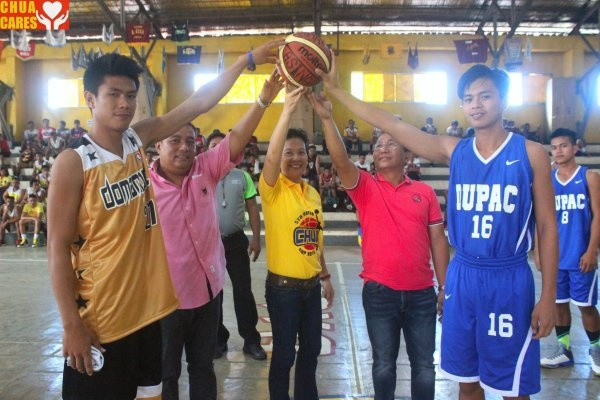 The Annual Mayor Chua Cup Basketball tournament is now officially open