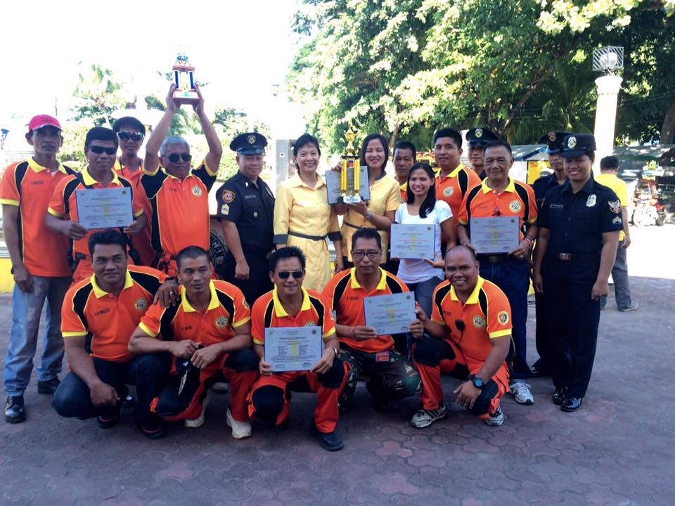 Over all Champion- First BFP Pangasinan fire drill Competition