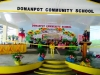 Ribbon-Cutting of the stage of Domanpot Community School (1)