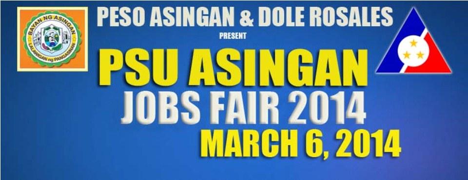 Job Fair - March 6, 2014