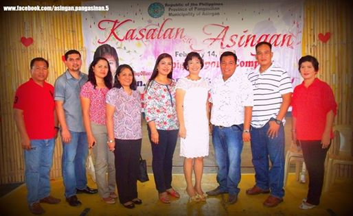 kasalang bayan - mayor with vice