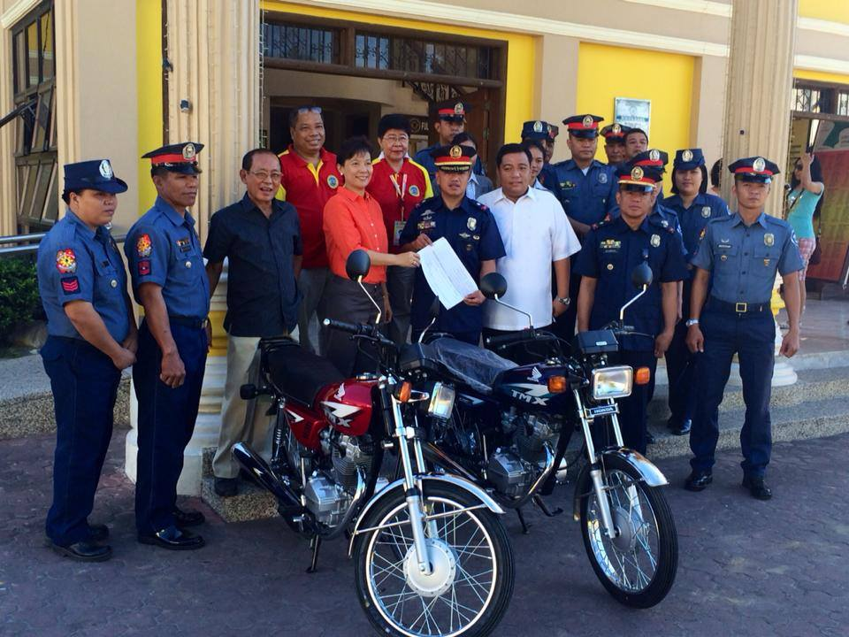 2 motorcycle units for Asingan Police