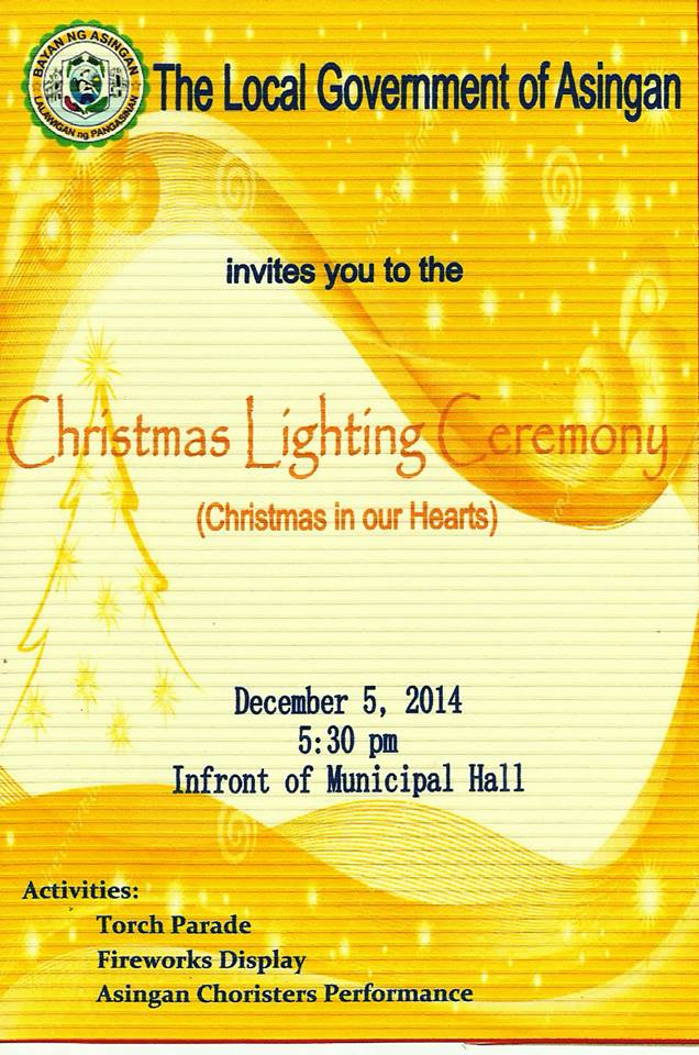 Christmas Lighting Cermony