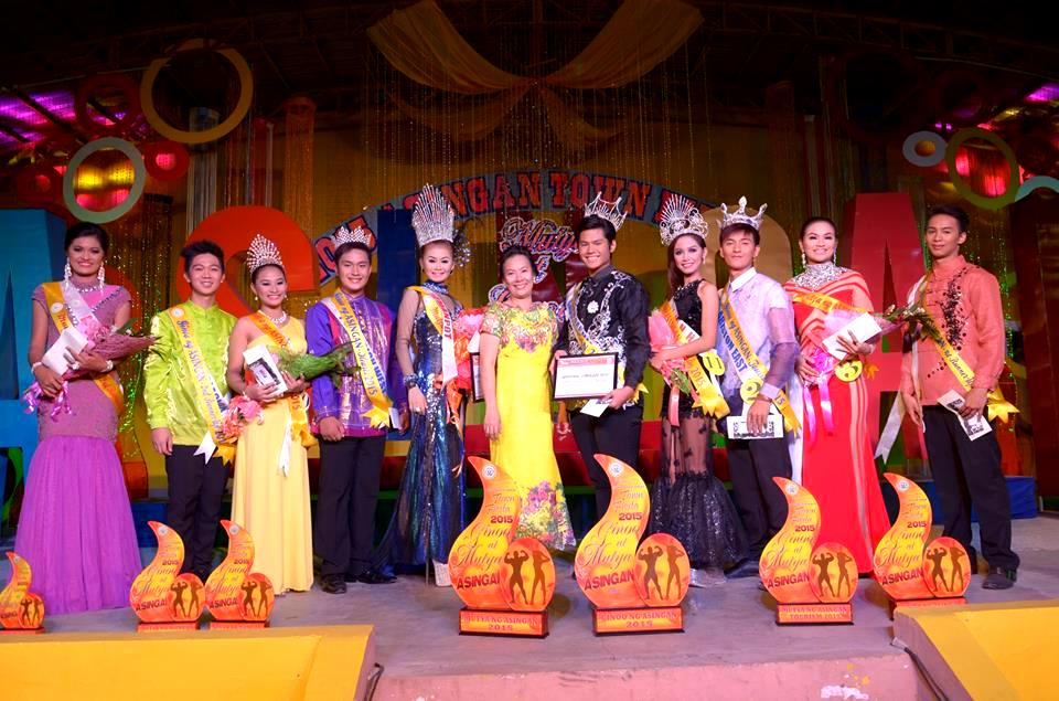Ginoo at Mutya 2015 winners