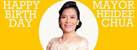 Happy 45th Birthday Mayor Heide Chua