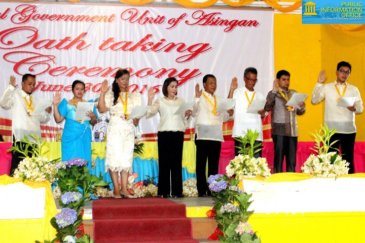 Oath Taking Ceremony 2016 Councilors