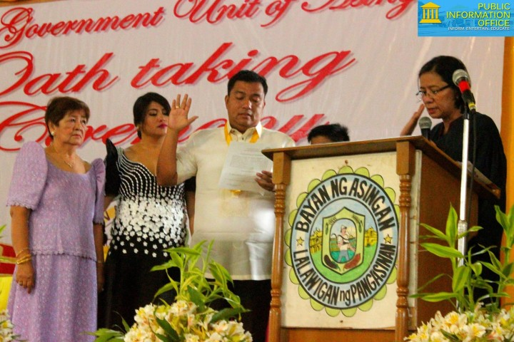 Oath Taking Ceremony 2016 vice Mayor Carlos Lopez Jr