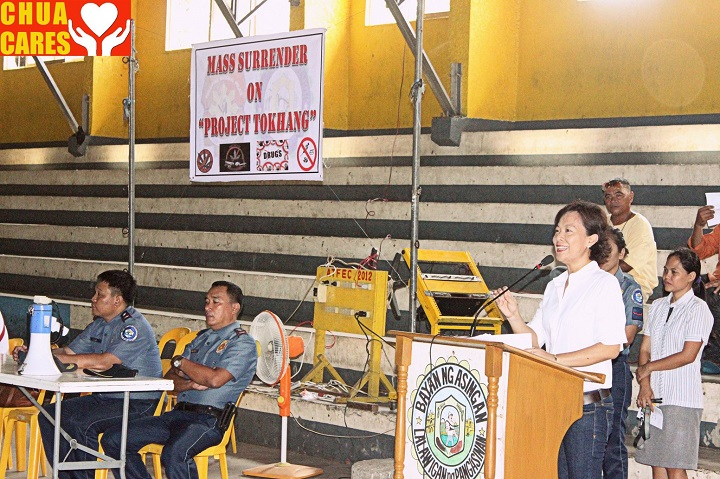 Less than 200 drug users voluntarily surrendered 1