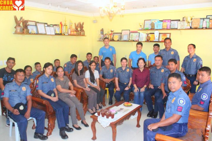 AMPS- Personnel led by PCI Junmar Gonzales, OIC, paid a courtesy call to Asingan Mayor Heidee Chua