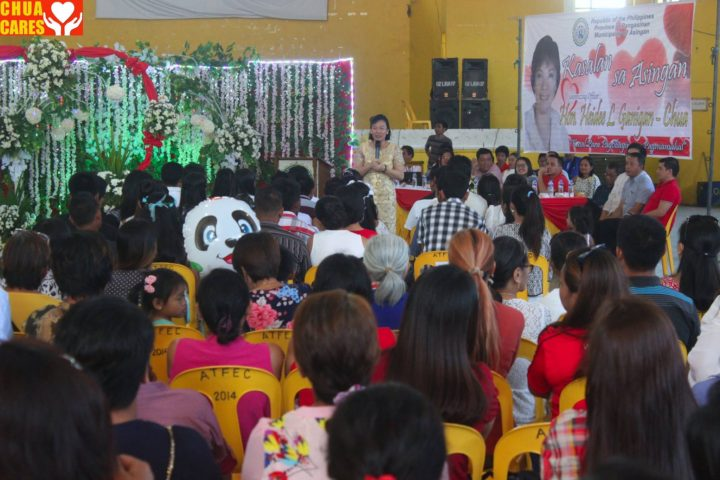 Speaks to Couples of Kasalang bayan 2017