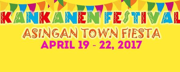 Asingan Kankanel Festival 2017 banner