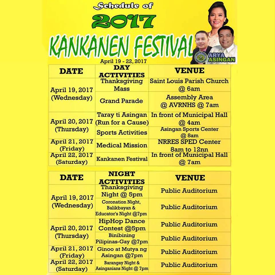 kankanen festival 2017 schedule