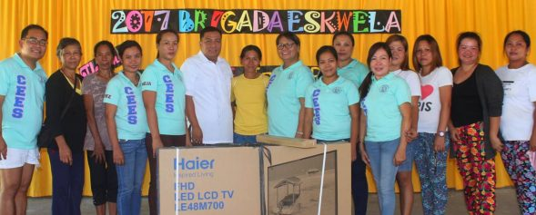 New TV for CEES from LGU Asingan Pangasinan featured