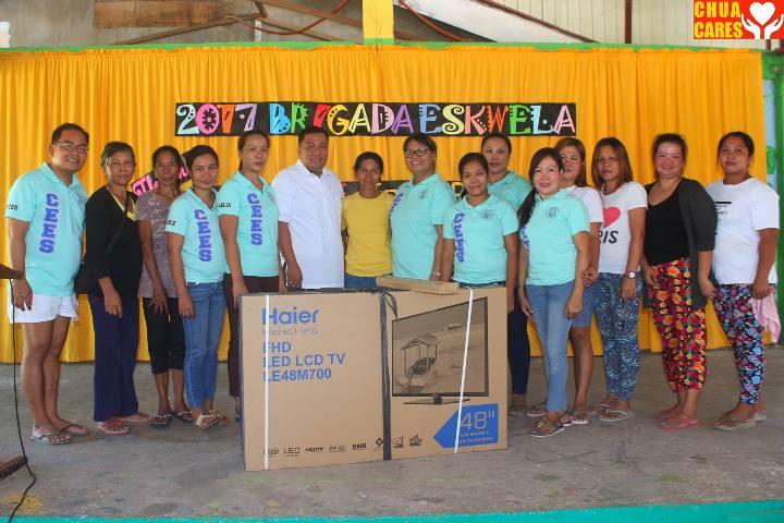 New TV for CEES from LGU Asingan Pangasinan