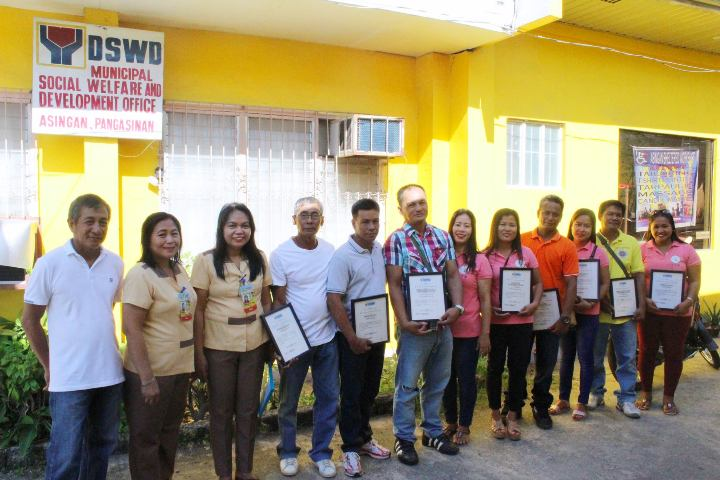 The Certificate of Accreditation was given to Four (2)