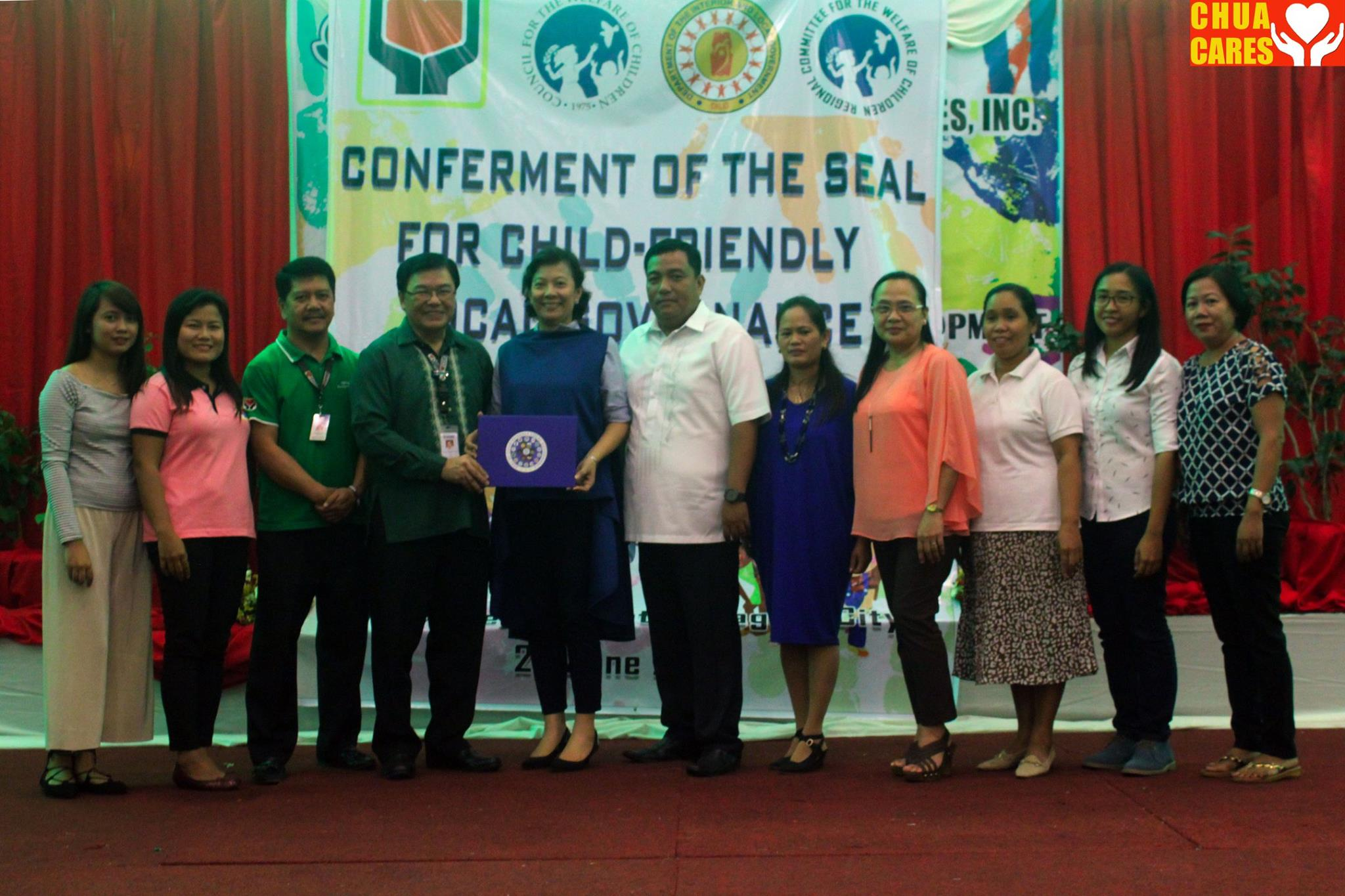 Seal of Child Friendly Local Governance Award (2)