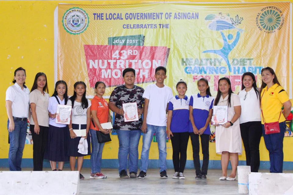 Asingan celebrates the 43rd National Nutrition Month 3