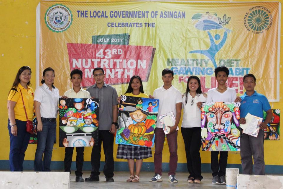 Asingan celebrates the 43rd National Nutrition Month 4