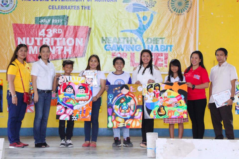 Asingan celebrates the 43rd National Nutrition Month 5